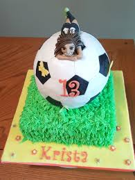 How To Decorate A Soccer Ball Cake Girls Soccer Ball Cake CakeCentral 5