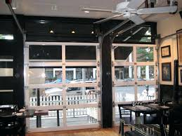 Glass garage doors restaurant Privacy Glass Garage Amazing Overhead Glass Garage Door With Perfect Glass Garage Doors Restaurant Retractable In Design Garage 77 Garage 75 Folly Rd Dakshco Garage Amazing Overhead Glass Garage Door With Perfect Glass
