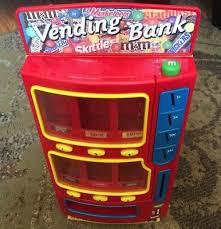 Skittles Vending Machine Interesting MARS M M's Candy Vending Machine Bank 48 Twix Snickers Skittles