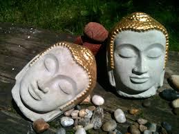 Buddha Head Decor Buddha Head Etsy