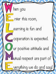 My Scl Chart Welcome Door Sign I Love My Classroom Classroom Door