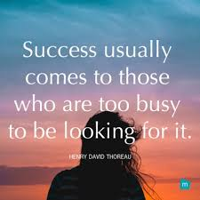 Thoreau Quotes Impressive Henry David Thoreau Quote Success Quote Success Usually Comes To