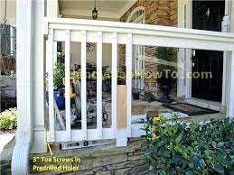 front porch railing ideas innovative designs outdoor best about railings wooden stair