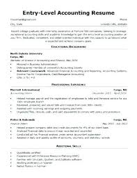 Resume Format For Accountant Accountant Resume Examples Fabulous ...