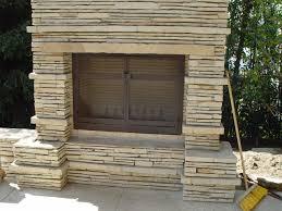 custom outdoor fireplace screen