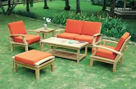 outdoor wooden patio furniture inspirational wood for outdoor furniture or outdoor table set with cushion wood