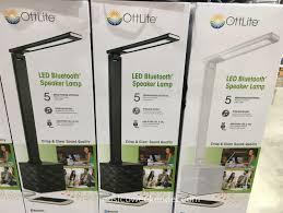ottlite led bluetooth speaker lamp functional practical yet lots of fun