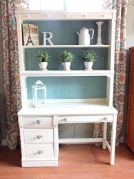 shabby chic office accessories. Outstanding Cottage Shabby Chic Desk Hutch Home Office Decor Design Ideas Accessories S