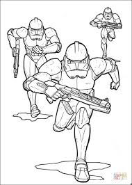 Star Wars Clone Trooper Coloring Page Free Download