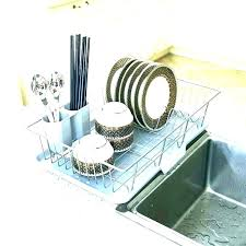 kitchen drying rack dish ideas dry best wood dishes sink