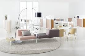 Stylish office White Decoration Docks Modern Stylish Office Furniture From Ophelis
