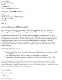 writing a business letter for job application cover letter example how to write a cover letter for a