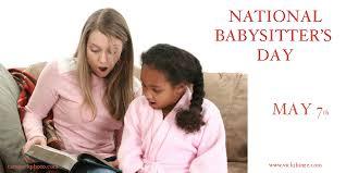 San Diego Babysitter National Babysitters Day San Diego