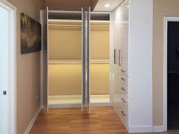 led closet lighting. l shaped closet system with custom lighting solutions led a