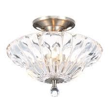 wonderful dale tiffany meridith light polished chrome crystal semi flush ceiling mountlier mounting bracket