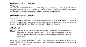Construction Worker Job Description Resume Template