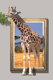 giraffe printed 3d oil paintings on canvas walls art animals posters and prints pictures for living room home decorations 55454 in painting calligraphy