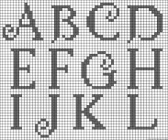 10 Best Photos Of Alphabet Pattern Beadwork Perler Bead