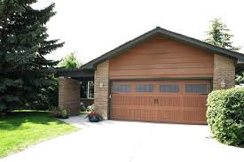 fiberglass garage doors design how to repair a home depot