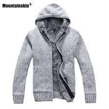 Mountainskin Autumn Winter <b>Men's Thick Jackets Casual</b> Warm ...