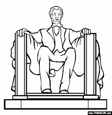 lincoln memorial coloring page phone coloring lincoln memorial