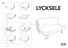 read ikea lycksele frame sofabed assembly instruction