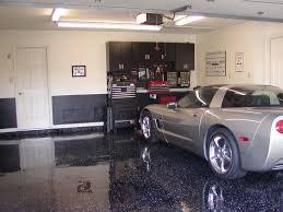 Epoxy Cabinet Paint Garage Black Metalic Floor Epoxy Coating Garage With Grey Car