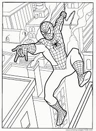 Get This Spiderman Marvel Superhero Coloring Pages For Free