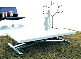 expandable coffee table to dining table height adjule coffee table expandable into dining table adjule height