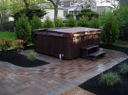 Pros Of Building A Hot Tub Deck Backyard Design Ideas Hot Tub Patio Awesome Hot Tub Backyard Ideas Plans