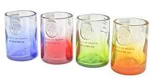 ciroc vodka reclaimed bottles glware drinkware barware shot gl gift set