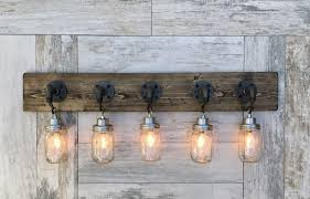 rustic bathroom lighting fixtures. A Look At Rustic Bathroom Light Fixtures Can 5 Country Style Pendant Vanity Fixture Aftcra Pertaining To Household Plan Lighting R