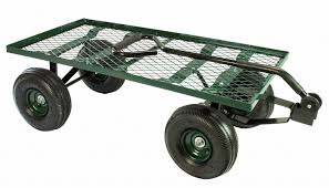 flatbed utility cart.  Utility Erie Tools 550 Lbs Flatbed Utility Garden Cart 38 X 20 Wagon Inside