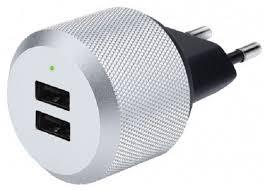 Купить сетевое <b>зарядное устройство Just</b> Mobile AluPlug AC ...