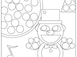 Foxy Coloring Pages Mangle Pictures Five Nights At S Page By For