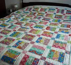 16 best Quilt Blocks - Scrap Crazy Patterns images on Pinterest ... & Easy Jelly Roll Quilt Pattern - 6 sizes Adamdwight.com