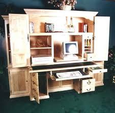 office desk armoire. Office Armoire Desk Computer Corner Stylish S