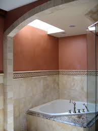 an example of a glazed faux finish