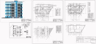 Курсовые и дипломные проекты Многоэтажные жилые дома скачать  Курсовой проект Девятиэтажный кирпичный жилой дом со встроенными помещениями 24 0 х 12