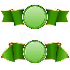 quadro redondo verde com fita imagem