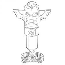 Skylanders Trap Team Coloring Pages Collection Free Coloring Book