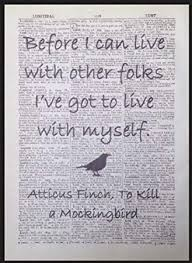 Amazon Parksmoonprints To Kill A Mockingbird Atticus Finch Best Atticus Finch Quotes With Page Numbers