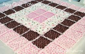Baby Rag Quilt Tutorial & rag-quilt-instructions Adamdwight.com