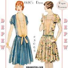 1920 Dress Patterns Cool Decoration