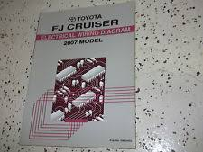 toyota fj cruiser repair manual 2007 toyota fj cruiser electrical wiring diagram service shop repair manual ewd
