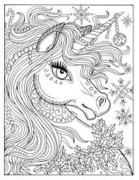 um size of unicorn coloring pages for kids free printable ki