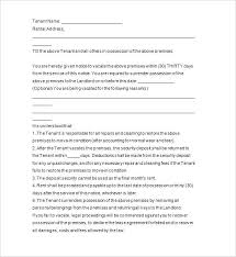 Days Printable Eviction Notice Template This To Vacate Is