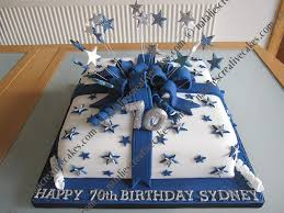 man 70th birthday cake ideas
