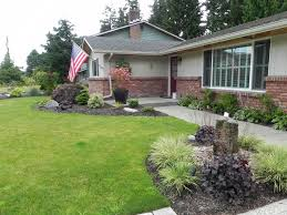 Small Picture Landscaping Design Ideas For Front Of House yard landscaping ideas