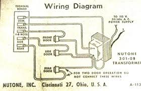 nutone doorbell wiring diagrams wiring diagram nutone 350 wiring diagram schematics and diagrams